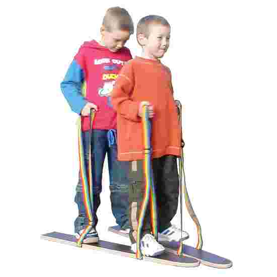 "Pedalo ""Hand/Foot Loop"" Dry Skis Length 80 cm, for 2 people"