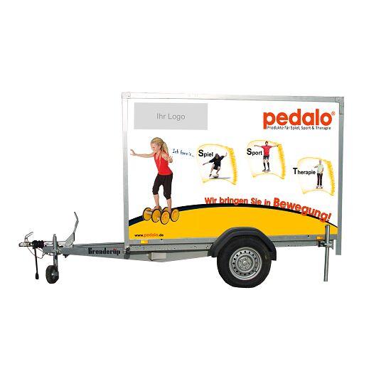 Pedalo Spielmobil-Anhänger Ohne Geräte, ohne Aufdruck