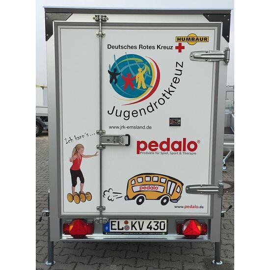 Pedalo® Spielmobil-Anhänger Ohne Geräte, ohne Aufdruck