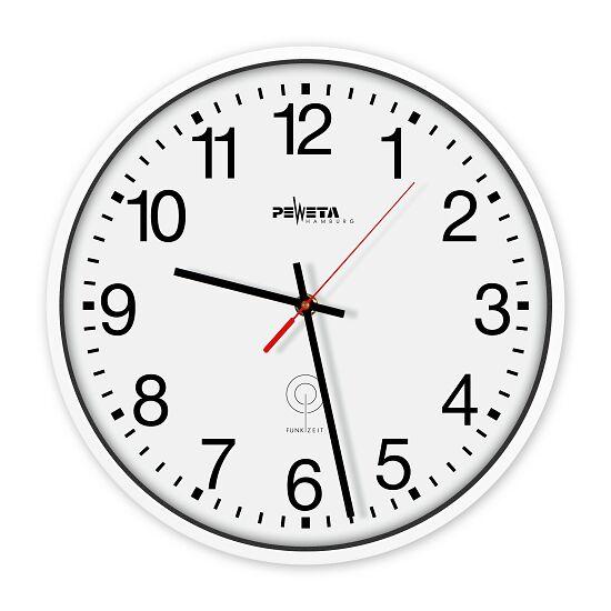 Peweta® Radiostyret Vægur Urskive med arabiske tal