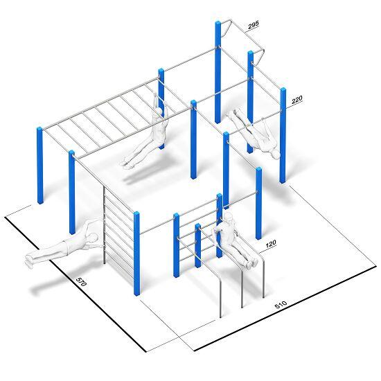 playparc calisthenics station allround kaufen sport thieme. Black Bedroom Furniture Sets. Home Design Ideas
