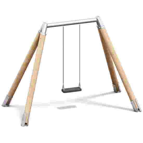 Playparc Einfachschaukel Holz/Metall Aufhängehöhe 200 cm