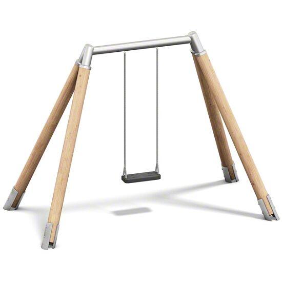 Playparc Einfachschaukel Holz/Metall Aufhängehöhe 260 cm