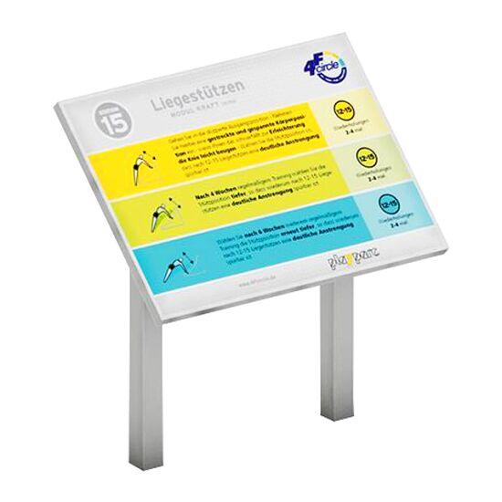 Playparc Stationstafel für Calisthenics-Station