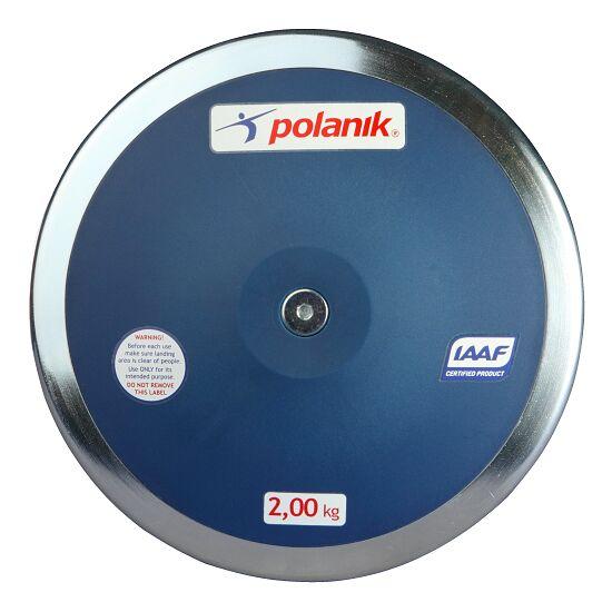 Polanik® Wettkampf-Diskus 2 kg