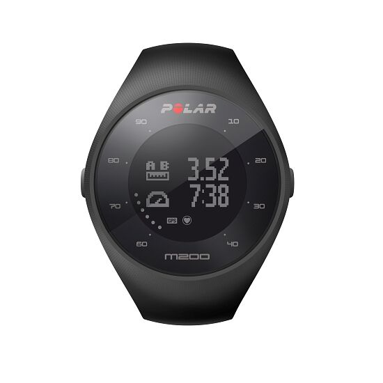 "Polar® ""M200"" Heart Rate Monitor Black"