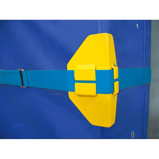 Protective Mat Corners for Wall Attachment Straps