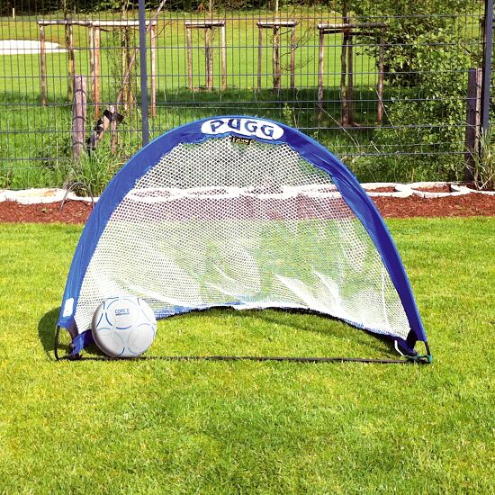 "Pugg ""Pop Up"" Pair of Football Training Goals Blue, 122x76x76 cm"