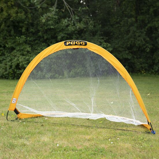 "Pugg ""Pop Up"" Pair of Football Training Goals Yellow, 183x107x107 cm"