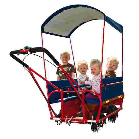 Push-Along Cart for 6 Children