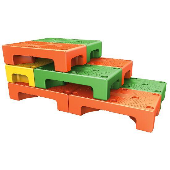 """Puzzle Step"" Aqua Step Green"