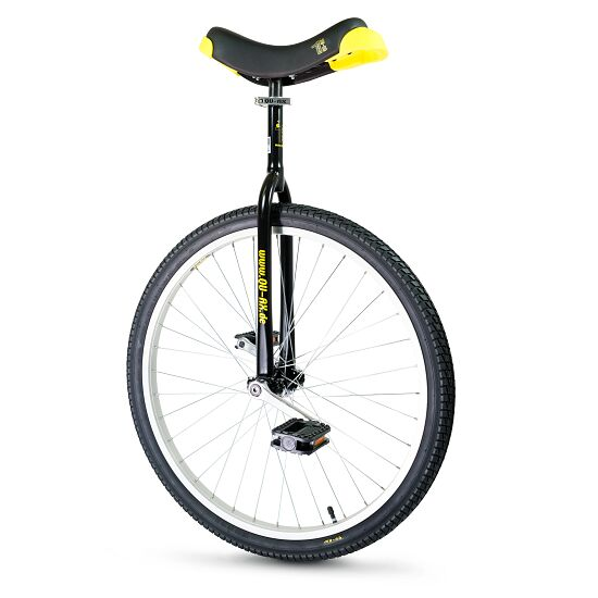 "Qu-Ax ""Luxus"" Outdoor Unicycle 26-inch tyre (ø 66 cm), black frame"