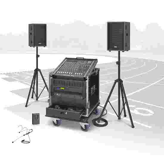 "RCS Beschallungssystem ""PCS-600"" Inkl. Handmikrofon & Headset mit Taschensender"