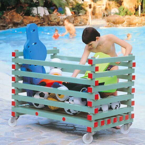REA® Kunststoff Materiallagerungswagen Offene Version