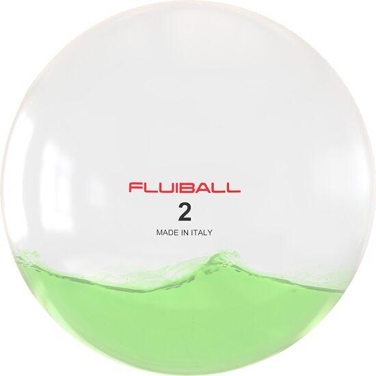 Reaxing® Fluiball 2 kg, Grün, ø 26 cm