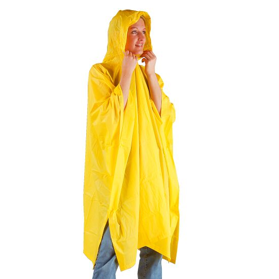 Regenponcho Gelb