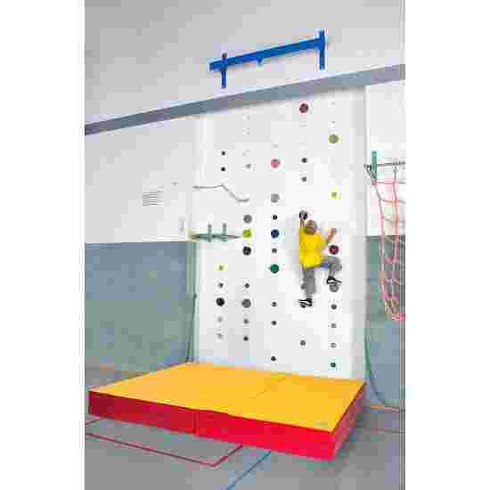 Reivo Bouldermatte mit Stufensystem Matte mit Flauschverbindung, Verbindung an langer 3 m-Seite