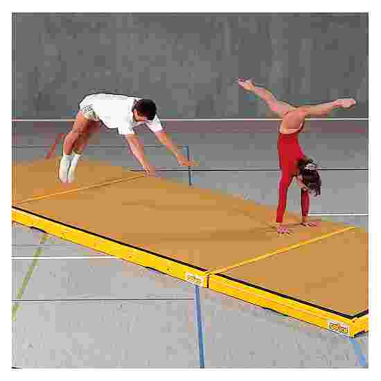 Reivo Kombi-Nedspringsmåtte 300x200x12 cm, Ravgul