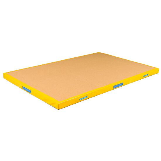 Reivo® Kombi-Niedersprungmatte 200x150x12 cm, Bernsteingelb