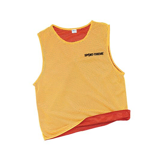 Reversible Bib Yellow/red