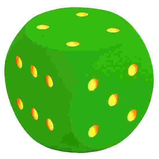 Riesenwürfel aus Schaumstoff Grün, 50 cm