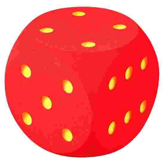 Riesenwürfel aus Schaumstoff Rot, 50 cm