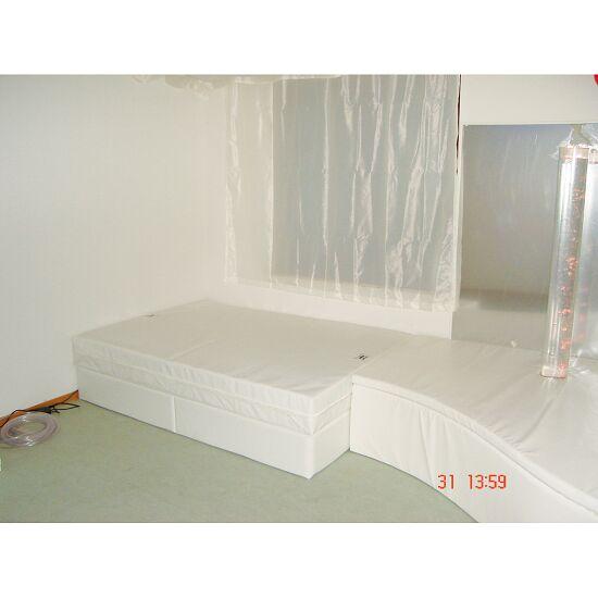 Rompa®-Musikwasserbett 160x200x50 cm hoch, Mit 4 Pulsgebern