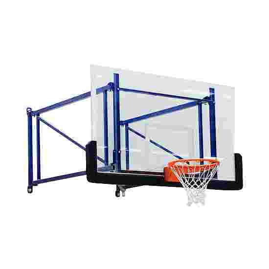 Rotating Basketball Wall Frame Extends out 170 cm, Concrete wall
