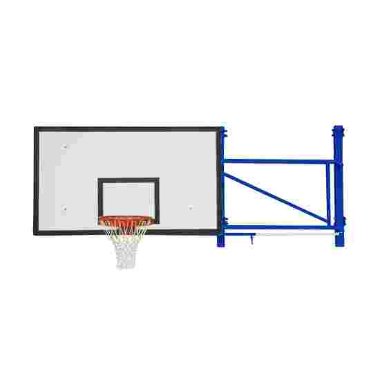 Rotating Basketball Wall Frame Extends out 225 cm, Concrete wall