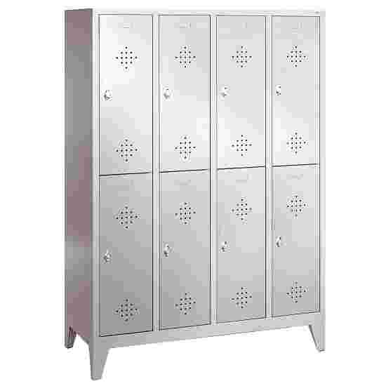 """""""S 2000 Classic"""" Double Lockers with 150-mm-high Feet 185x159x50 cm/ 8 shelves, 40 cm"""