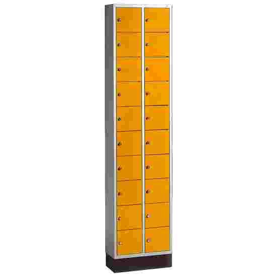 """""""S 4000 Intro"""" Valuables Lockers Yellow orange (RAL 2000)"""