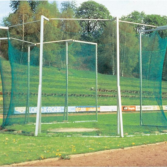 Safety Cage for Hammer and Discus Throwing, in Ground Sockets