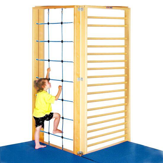 Sammenklappelig gymnastik-væg 2-delt