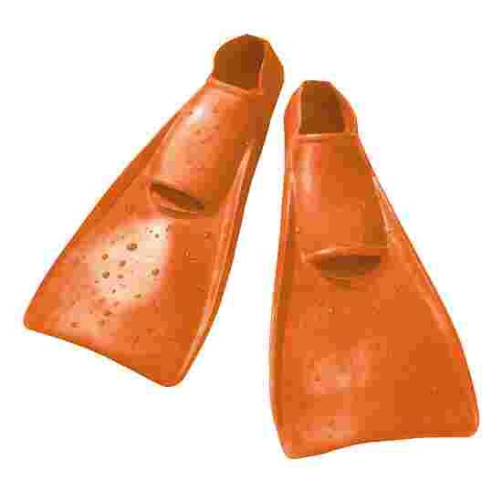 Schwimmflossen Entenschuhe Größe 22–24, Orange