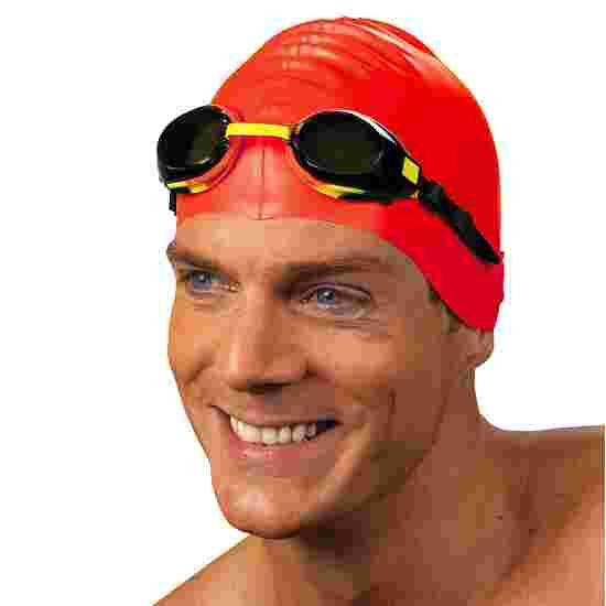 Schwimmkappe  aus Latex Rot