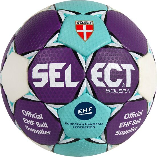 "Select® Handball ""Solera"" Größe 1, Blau-Weiß-Lila"