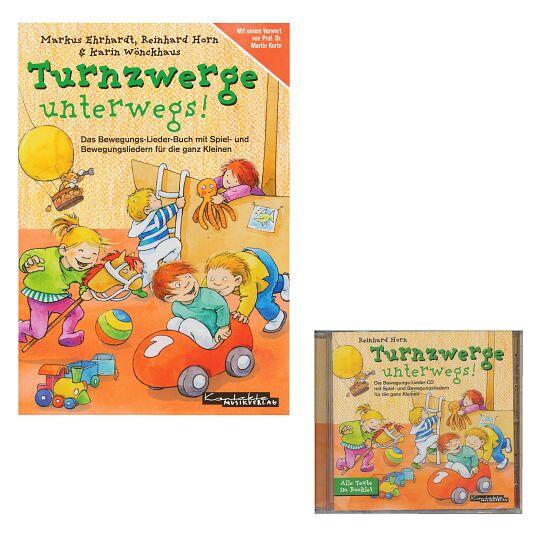 "Set Buch + CD ""Turnzwerge unterwegs"""