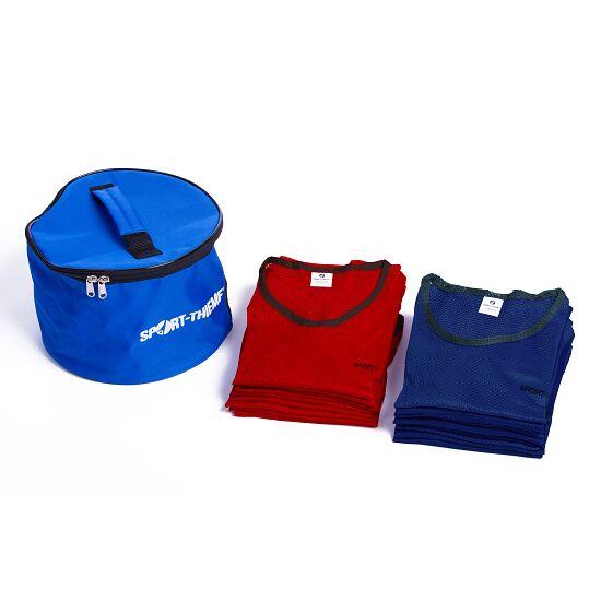 Set Mannschaftswesten Jugendliche, Rot/Blau