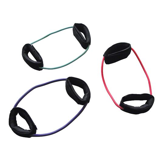Set of 10 Sport-Thieme® Cuff Tubes Green = low