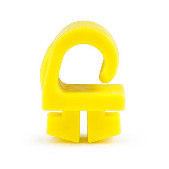 Sicherheits-Netzhalter aus KU Das Netz wird eingehängt, Gelb, 19x19x26 mm