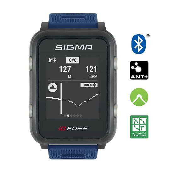 """Sigma Fitnessuhr """"iD Free"""" Blau"""