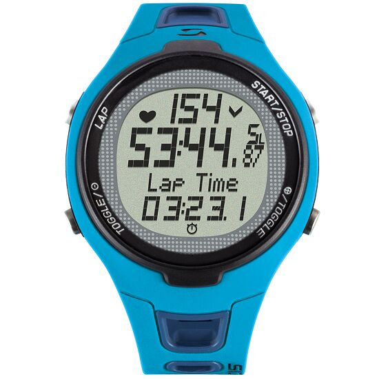"""Sigma® """"PC 15.11"""" Heart Rate Monitor Blue"""