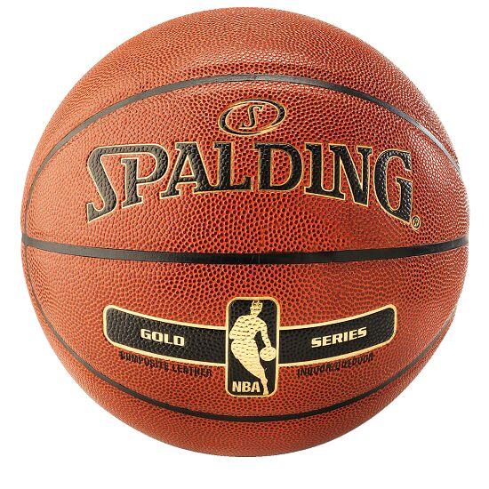 "Spalding® ""NBA Gold"" Basketball Size 5"
