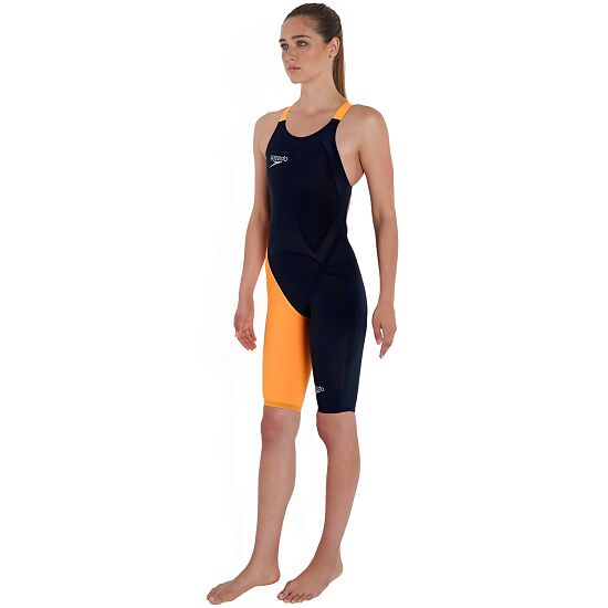 "Speedo® Legsuit Fastskin ""LZR Elite 2"" Schwarz/Papaya Punch"