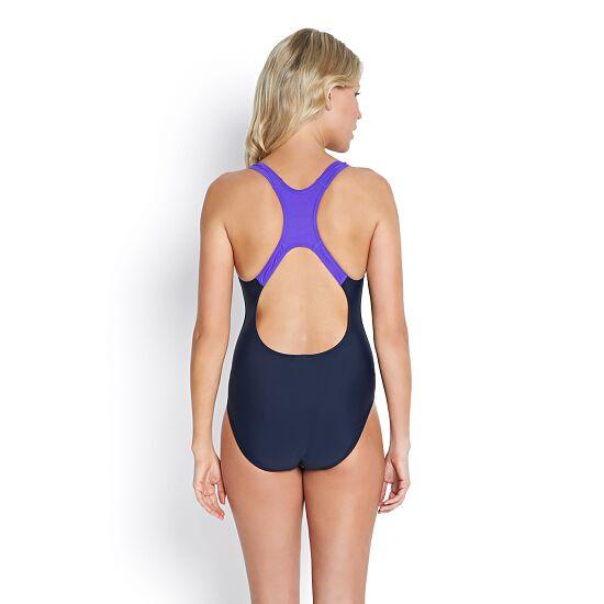 """Speedo® Schwimmanzug """"Medalist"""" Navy/Violet"""