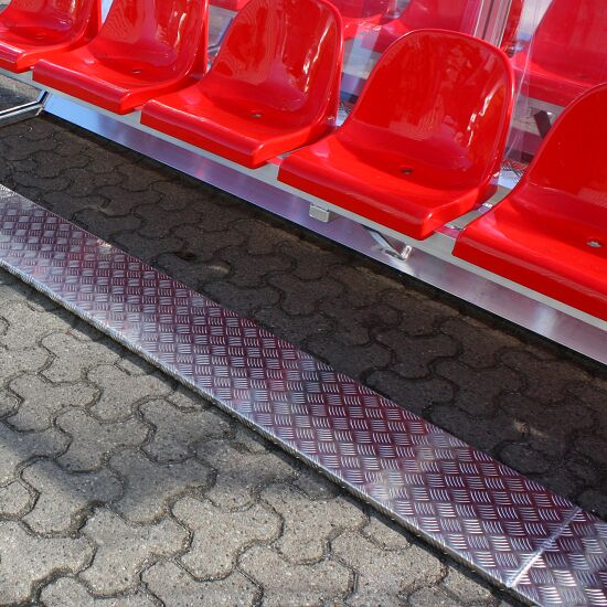 """Spielerkabine """"Exklusiv"""" 2,00 m breit, 4 Sitze, Ohne Fußheizung"""