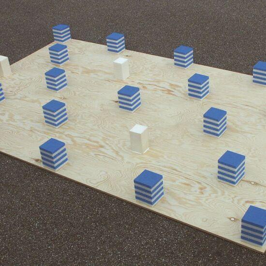 "Spieth Gymnastikbane ""Stuttgart"" (byggesæt) Byggesæt 9 elementer = 10,98 m"