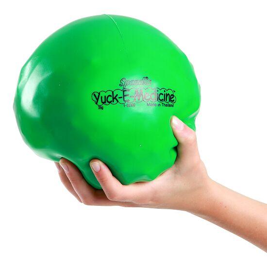 Spordas® Yuck-E-Medicineball 2 kg, ø 16 cm, Grün