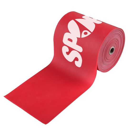 Sport-Thieme 150 Exercise Band 25 m x 15 cm, Red = extra-high