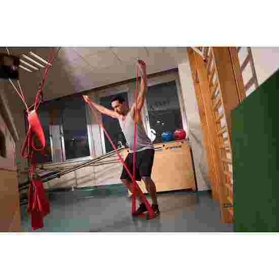Sport-Thieme 150 Exercise Band 2 m x 15 cm, Red, extra strong
